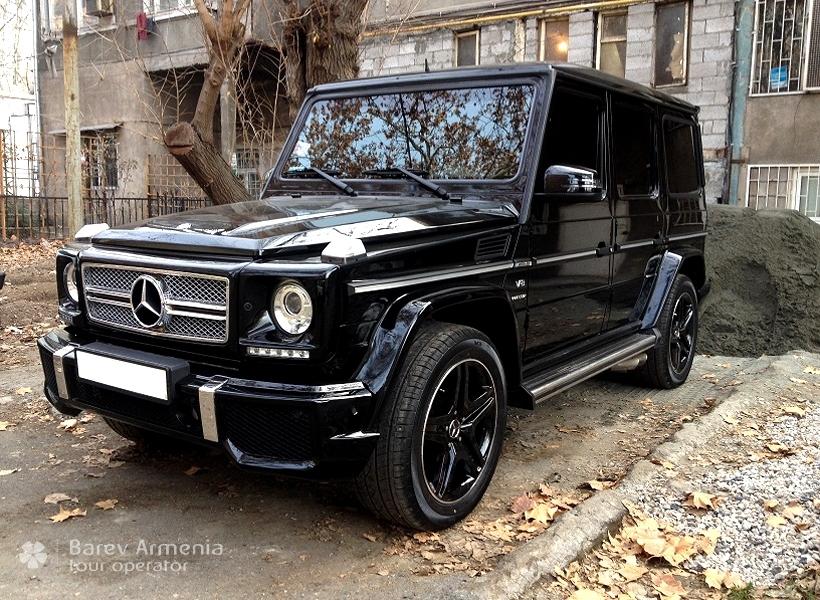 Mercedes G class : Car rental | Barev Armenia Tours