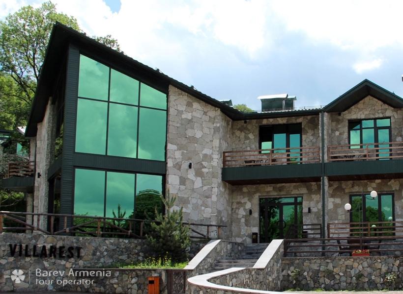 villarest dilijan hotels barev armenia tours