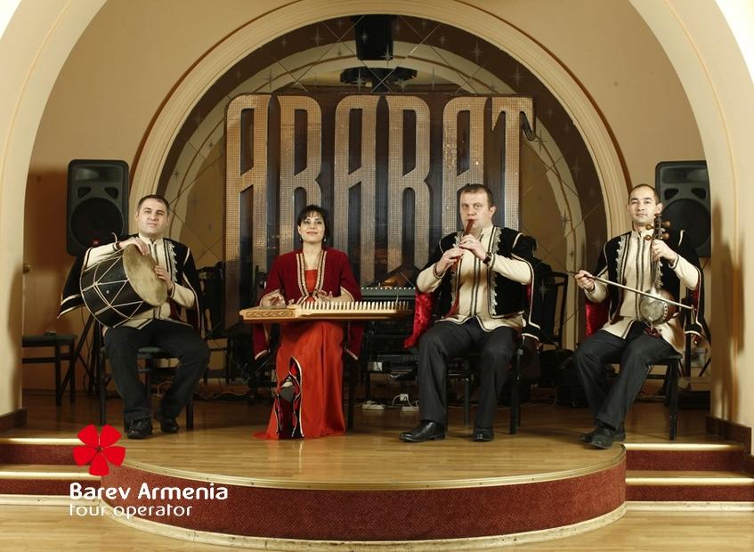 Ararat restaurant yerevan barev armenia tours for Ararat armenian cuisine