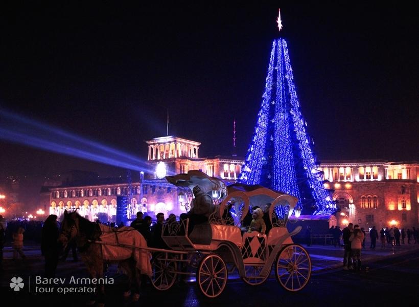 New Year in Armenia 2018 | Barev Armenia Tours