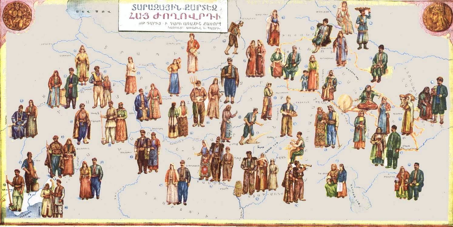 Taraz - Armenian National Dress • Travel Armenia Blog