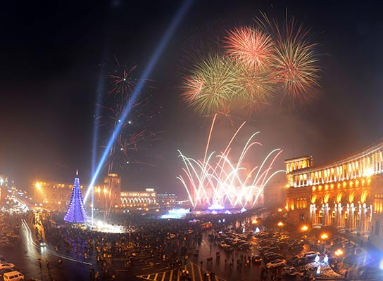 New Year in Armenia