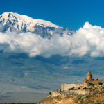 Khor Virap monastery  with Ararat view