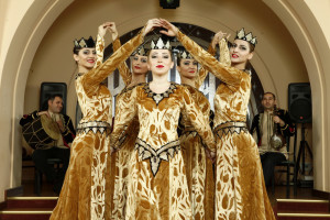 Armenian national dance show