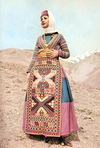 Bridal dress of Armenian woman from Gavash area