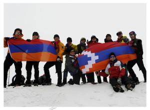 Expedition Reaches Mt. Ararat Summit