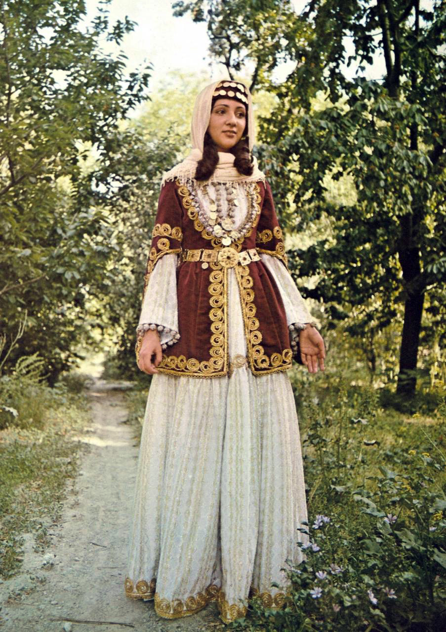 Bridal dress from armenian shamakh 19th century travel for 19th century wedding dresses