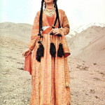 Traditional dress of Armenia woman  from Shatakh