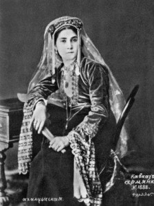 Armenian lady from Akhaltsikh 1892