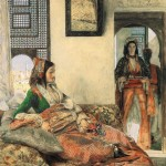 John Frederick Lewis An Armenian Lady in Cairo 1855