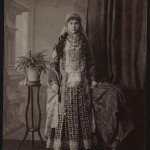 Portrait of an Armenian lady from the old Yerevan (ca.1900)