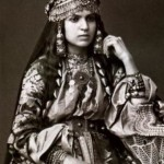 Young Armenian lady from Shamakhi before 1917