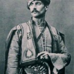 Armenian man in traditional costume